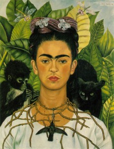 Frida Kahlo's Self Portrait