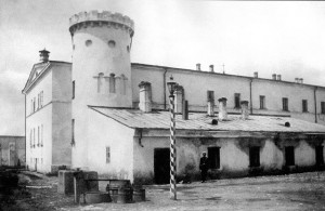 Butyrka prison, 1890s. This was the central transit prison in Tsarist Russia