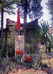 Trotsky's grave.