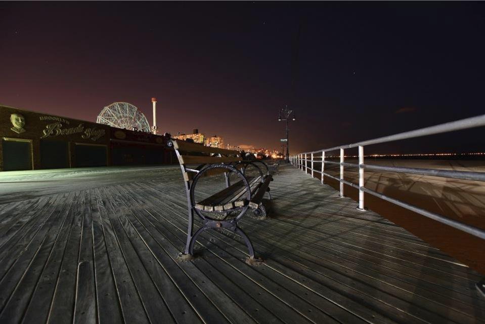 Coney Island Boardwalk. Photo: Luke Ballard