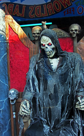 More Spook-A-Rama. Photo: Jim Blythe