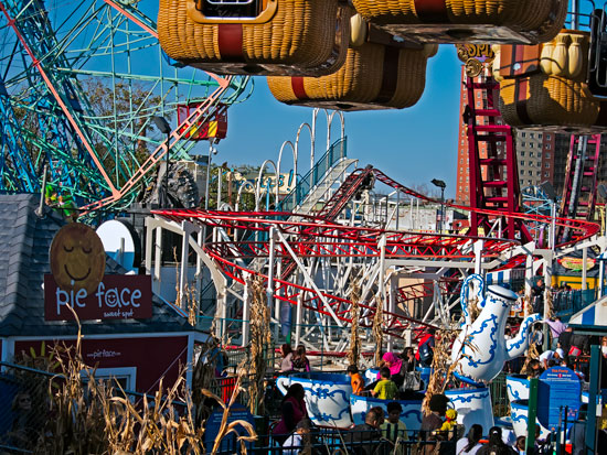 The new Luna Park. Photo: Jim Blythe