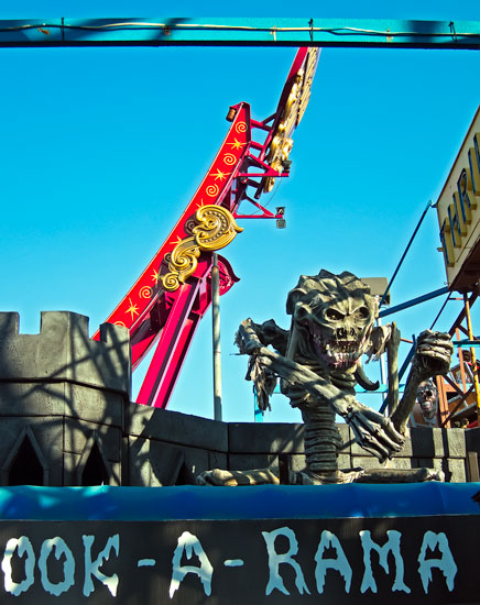 Top of Spook-A-Rama. Photo Jim Blythe