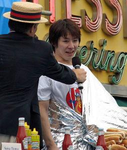 Takeru Kobayashi in 2007