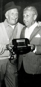 Jimmy Durante and Nathan Handwerker