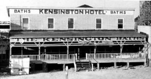 The Kensington Hotel before the Thunderbolt.
